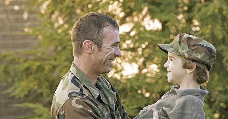 military parent rights